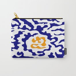 Abstraction in the style of Matisse 49 orange and blue Carry-All Pouch