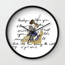 Silver Linings Playbook Wall Clock