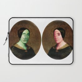 The Vitruvian Sisters (collage) Laptop Sleeve