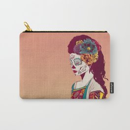 Mexican Skull Lady Carry-All Pouch