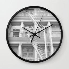Soho Escape Wall Clock