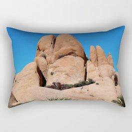 Rocks at Joshua Tree National Park Rectangular Pillow