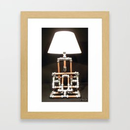 Articulated Desk Lamps - Copper and Chrome Collection - FredPereiraStudios_Page_17 Framed Art Print