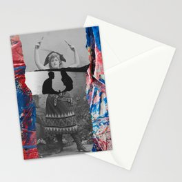 Retro Vintage Collage Photographic and Abstract Art Stationery Cards