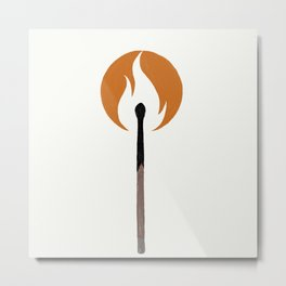 Say Anything - Burn A Miracle Metal Print
