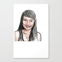 Iya's Shirt Canvas Print