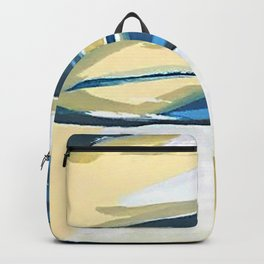 Yellow & Blue Water Backpack