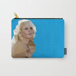 Cyan Blonde Carry-All Pouch