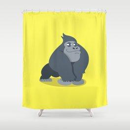 Gary Gorilla Shower Curtain