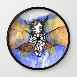 balance / after the storm Wall Clock