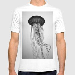 Jellyfish Black and White T-shirt