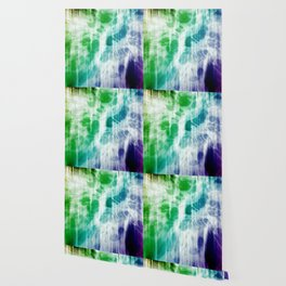 Retro, Boho Chic Tye-Dye Pattern Wallpaper