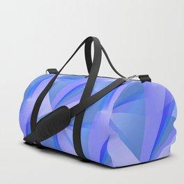 Blue Crystals Abstract Duffle Bag