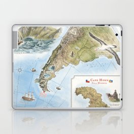 Cape Horn - Exploration AD 1616 Laptop & iPad Skin