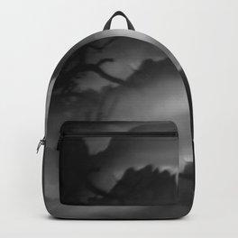 Dark Abstract Landscape Backpack