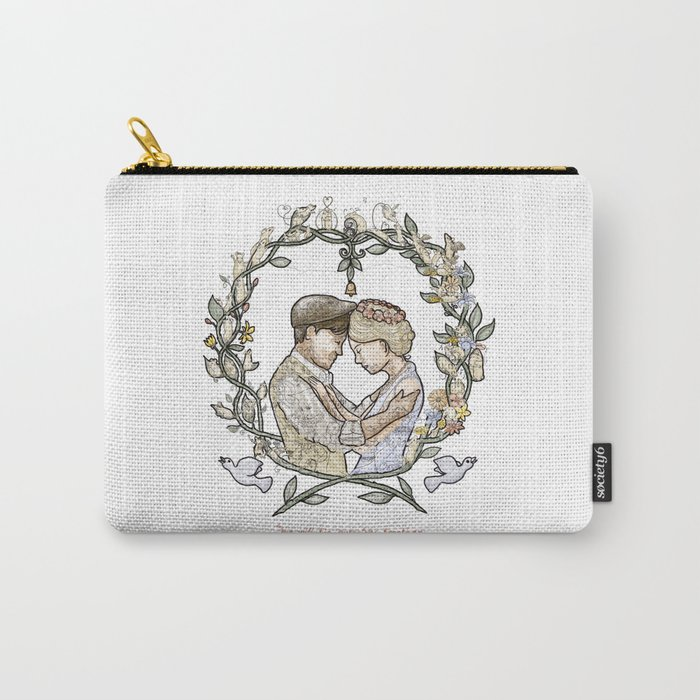 """Illustration from the video of the song by Wilder Adkins, """"When I'm Married"""" (no names on it) Carry-All Pouch"""