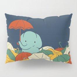 Umbrellaphant Pillow Sham