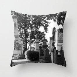 memorial street Throw Pillow