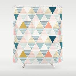 Modern Geometric Shower Curtain