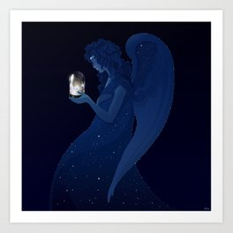 Angel Memorabilia Art Print