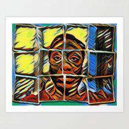 Digital Art Photography: Hope Unashamed Art Print