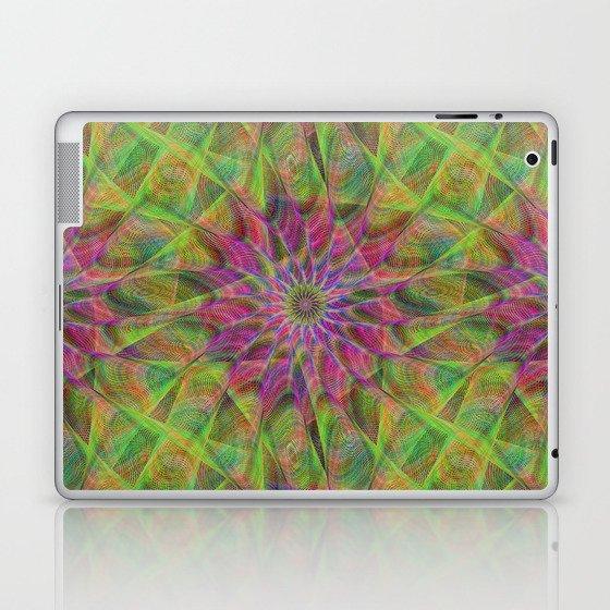 Fractal pattern Laptop & iPad Skin