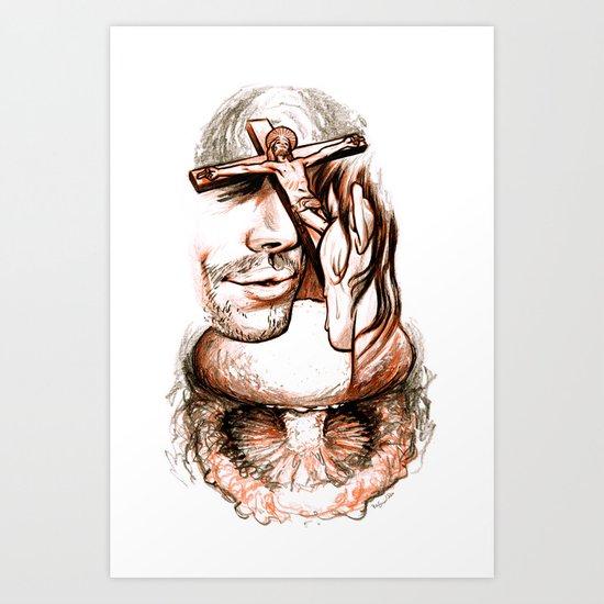 Apocalypse kiss Art Print