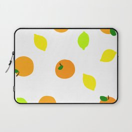 Citrus with Yellow, Orange and Green Oranges, Lemons and Limes Laptop Sleeve