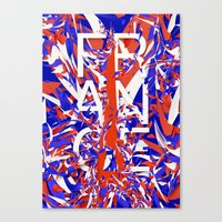 france Canvas Prints featuring France by Danny Ivan