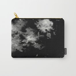 Endless Turmoil - Abstract Black And White Painting Carry-All Pouch