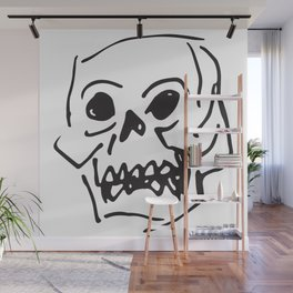 Shelly the Skelly Wall Mural