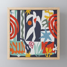 Inspired to Matisse Framed Mini Art Print