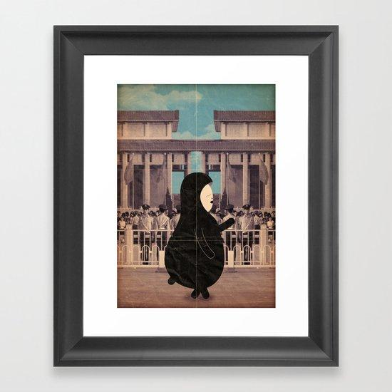 Walking on a Dream Framed Art Print
