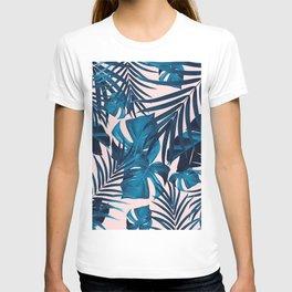 Tropical Jungle Leaves Pattern #6 #tropical #decor #art #society6 T-shirt