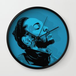 Kendrick Lamar by STENZSKULL Wall Clock