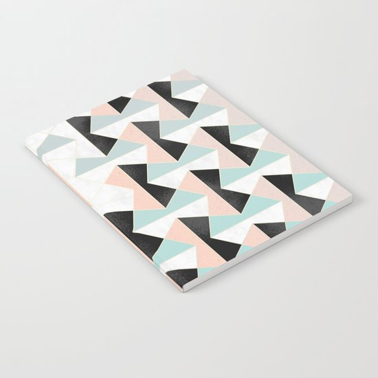Mixed Material Tiles Notebook