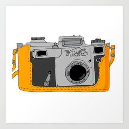 Kiev Camera Art Print