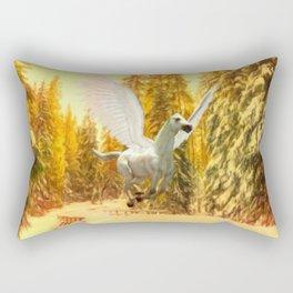 Pegasus, Winged Horse Rectangular Pillow