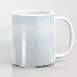 Two Radio Towers on the Horizon Coffee Mug