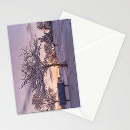 Winter Sunset #2 Stationery Cards