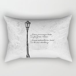 Chronicles of Narnia - Some adventures - CS Lewis Rectangular Pillow