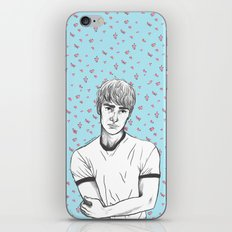 Finn Nelson Floral iPhone & iPod Skin