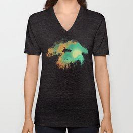 Leap of Faith Unisex V-Neck