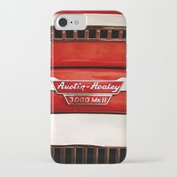 austin iPhone & iPod Cases featuring Austin Healey by Anna Dykema Photography