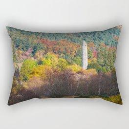 Autumn at Glendalough (RR 171) Rectangular Pillow
