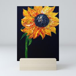Sunflower Outburst Mini Art Print