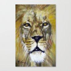 Title: Mesmerizing Lion King Canvas Print
