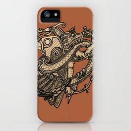 Norse animals iPhone Case