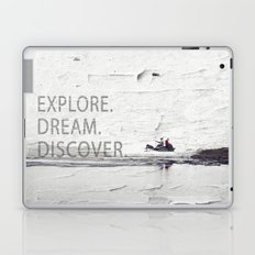 Explore.Dream.Discover. Laptop & iPad Skin
