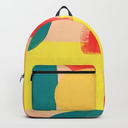 Abstract Figures Backpack